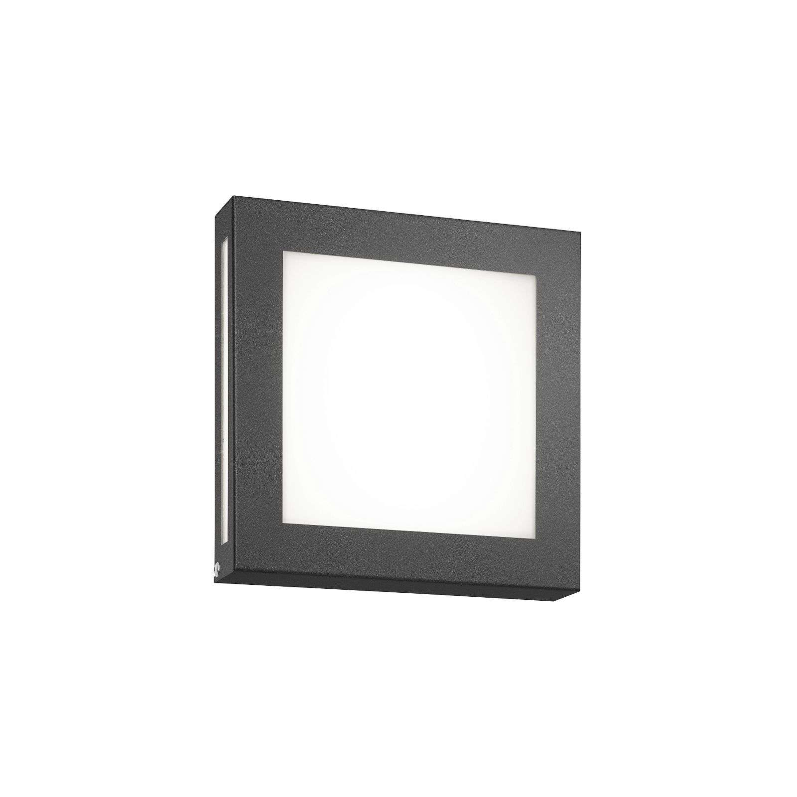 Aplique LED color antracita pared ext Legendo Mini