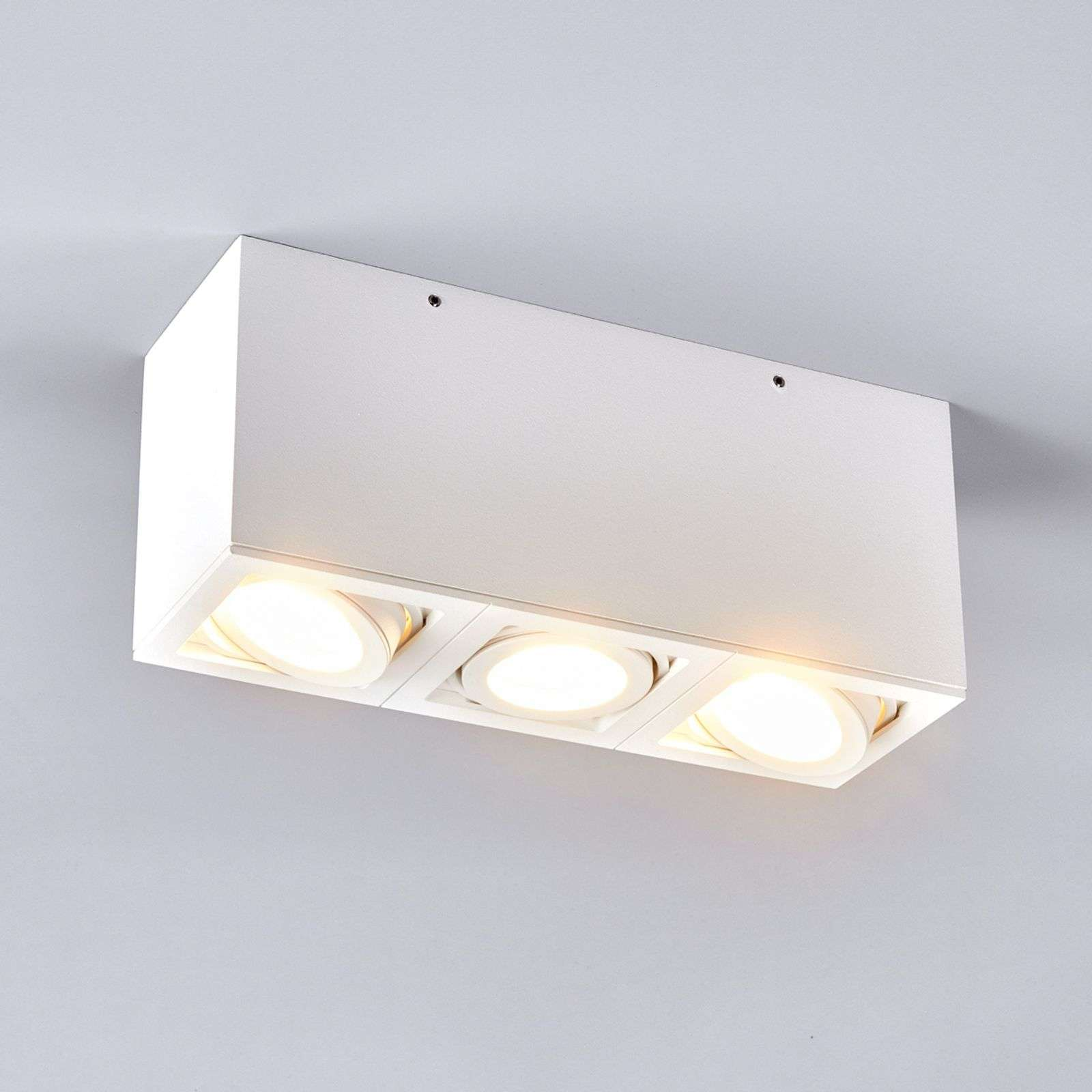 Foco de techo LIGHT BOX 3 blanco
