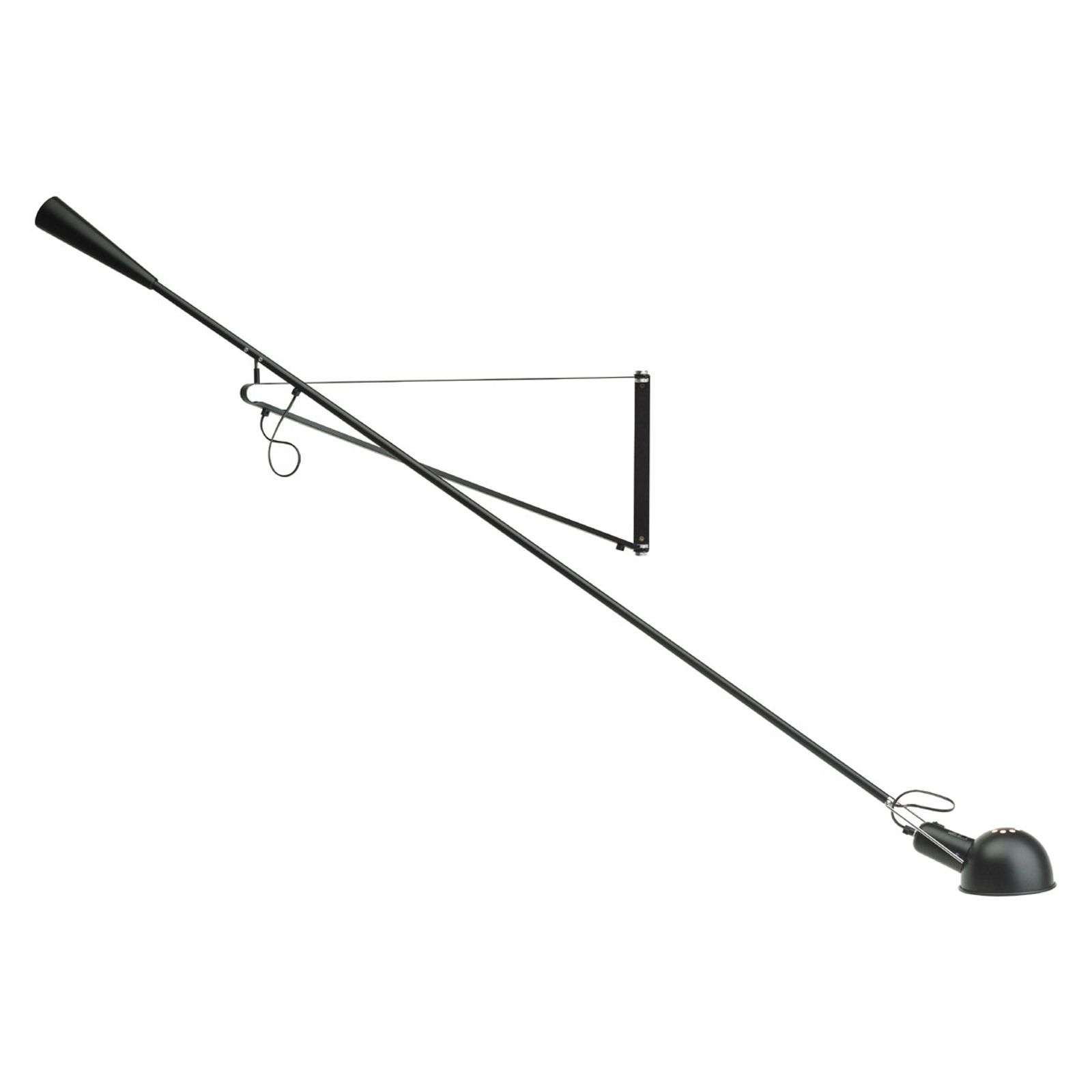 Lámpara de pared flexible 265, negro