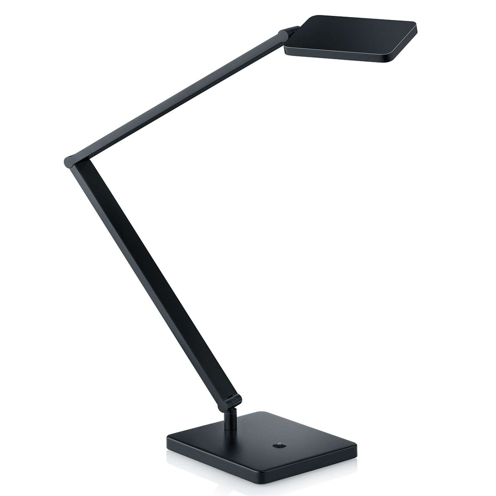 Lámpara de mesa LED Linus ajustable, negro