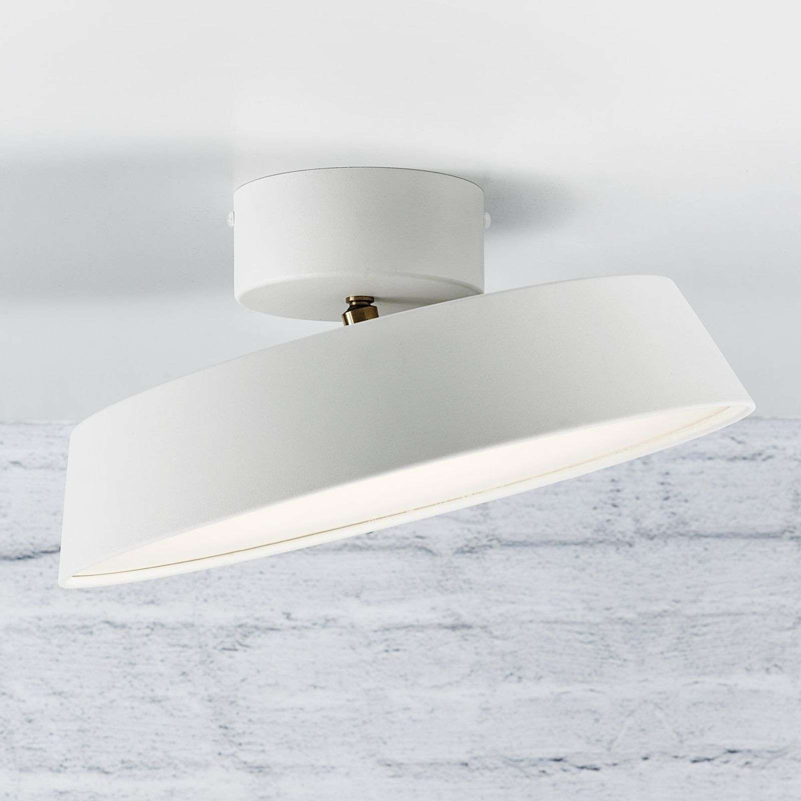 Alba - lámpara LED de techo orientable, blanco