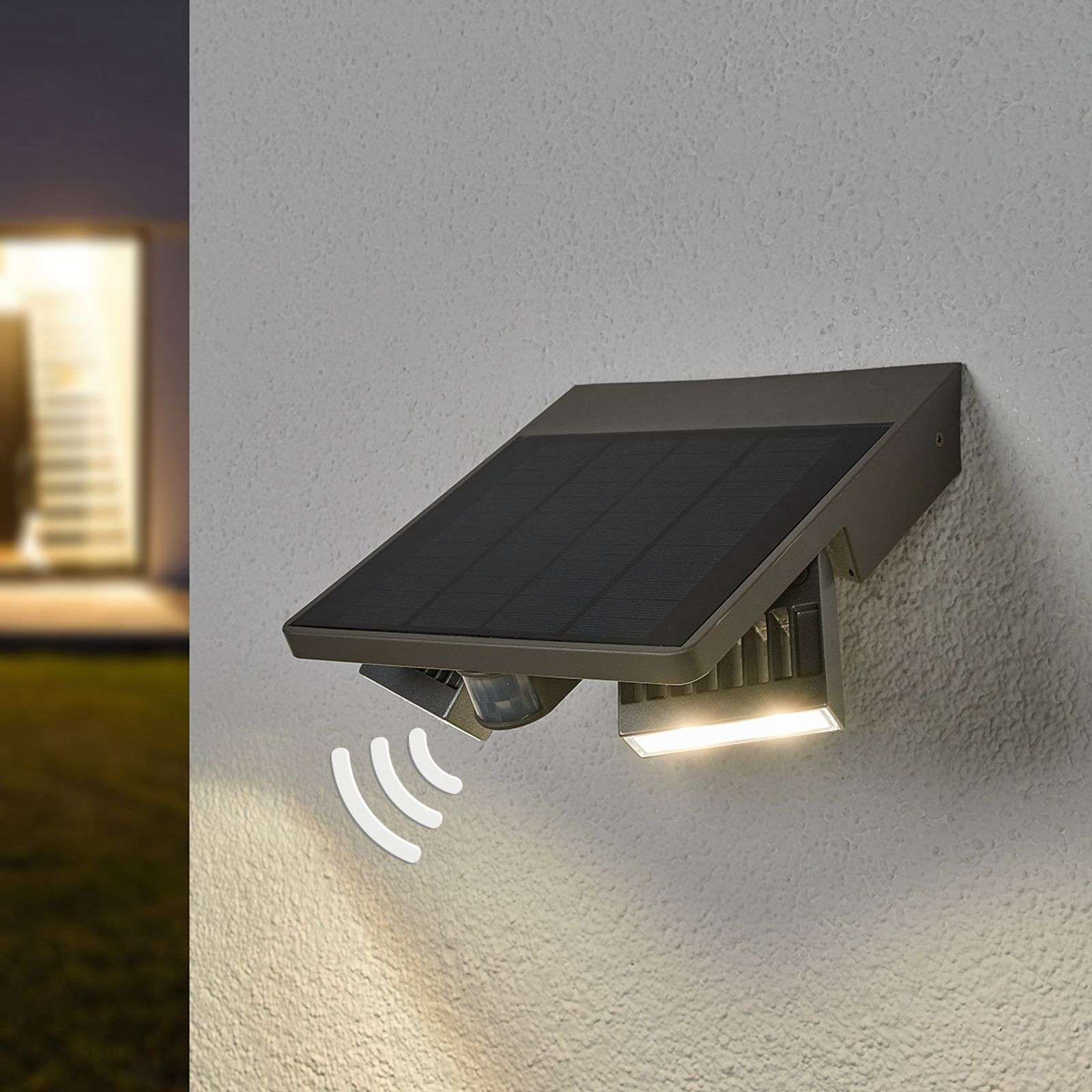 Aplique LED para exterior Ghost Solar