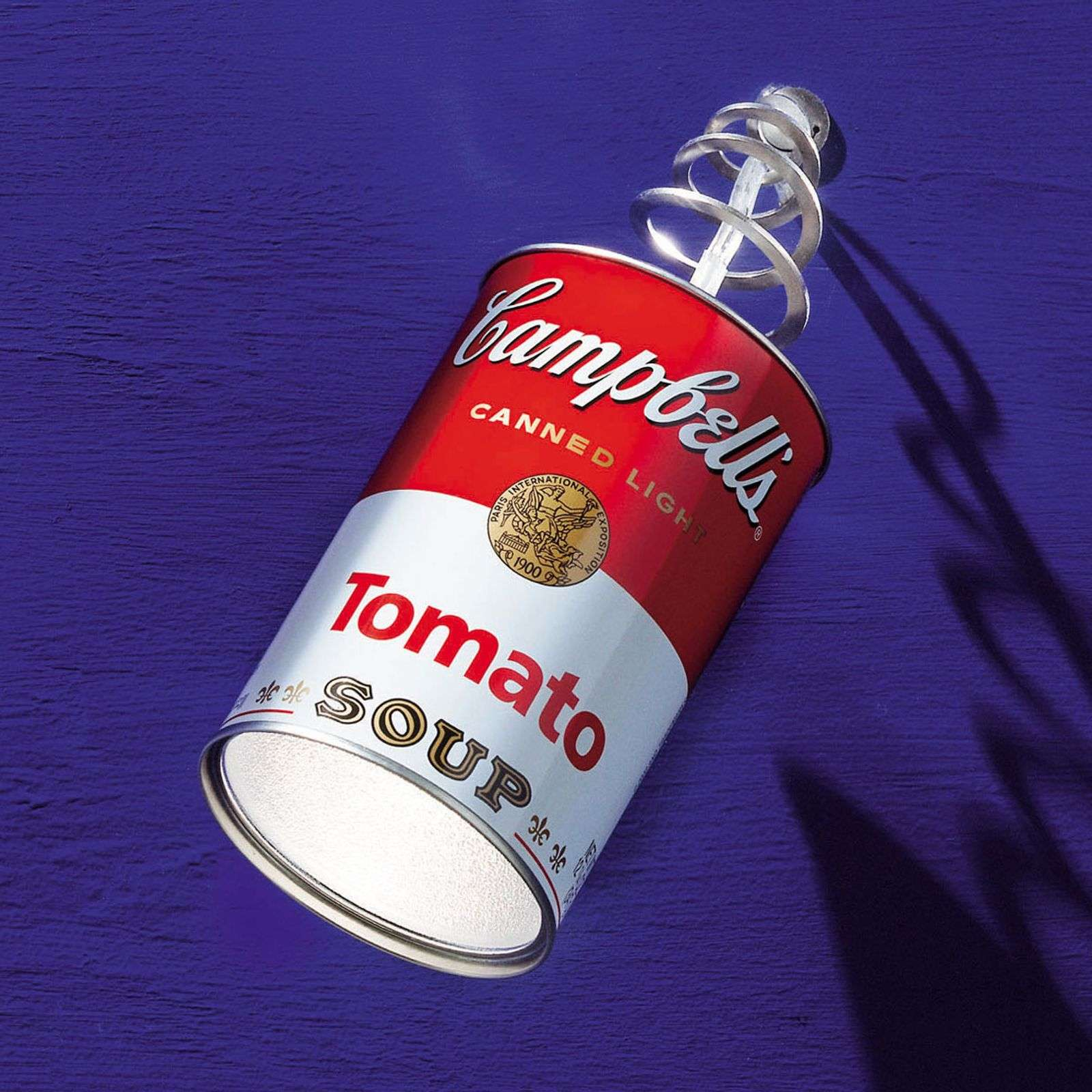 Canned Light: lámpara colgante y lámpara de pared