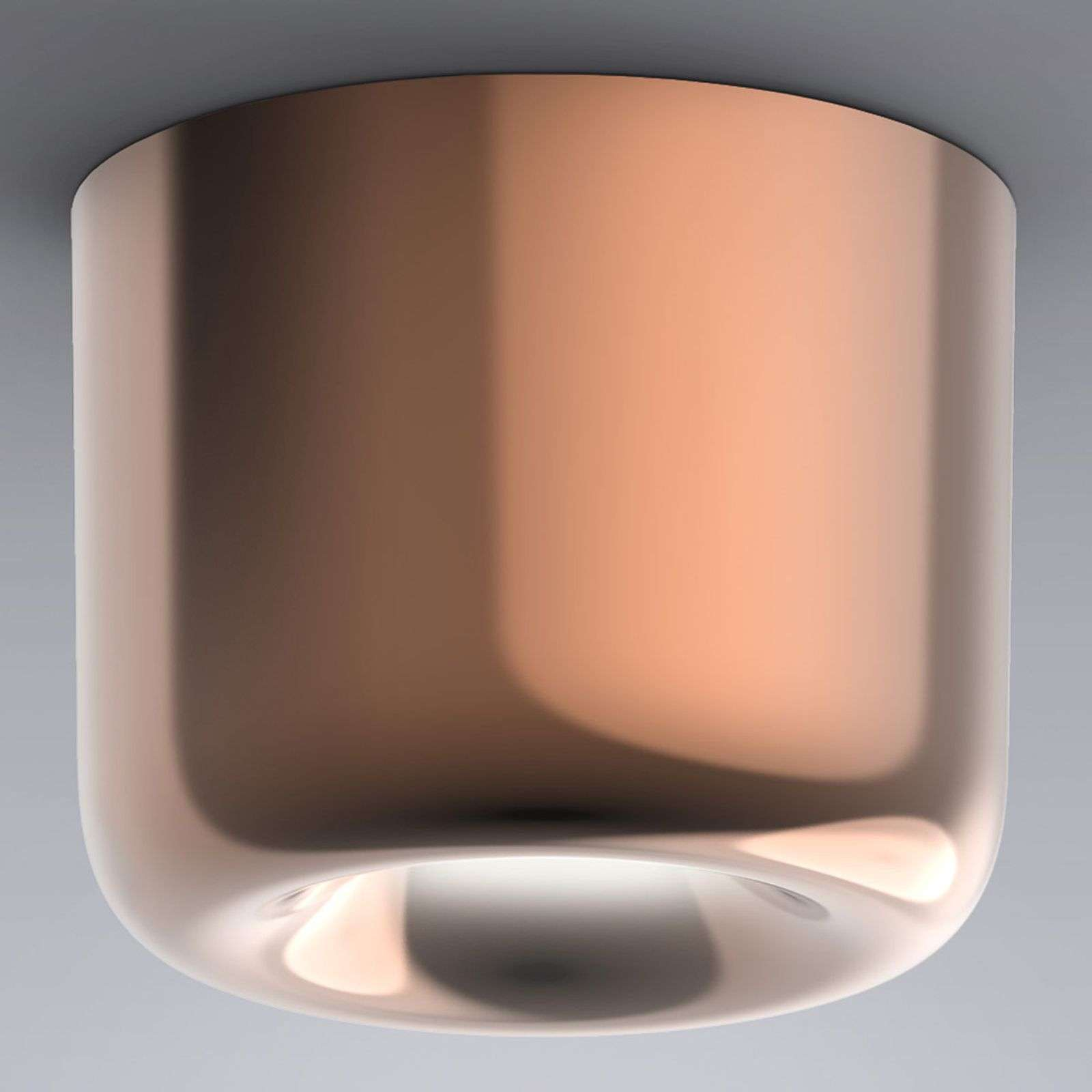 serien.lighting Cavity Ceiling L, bronce