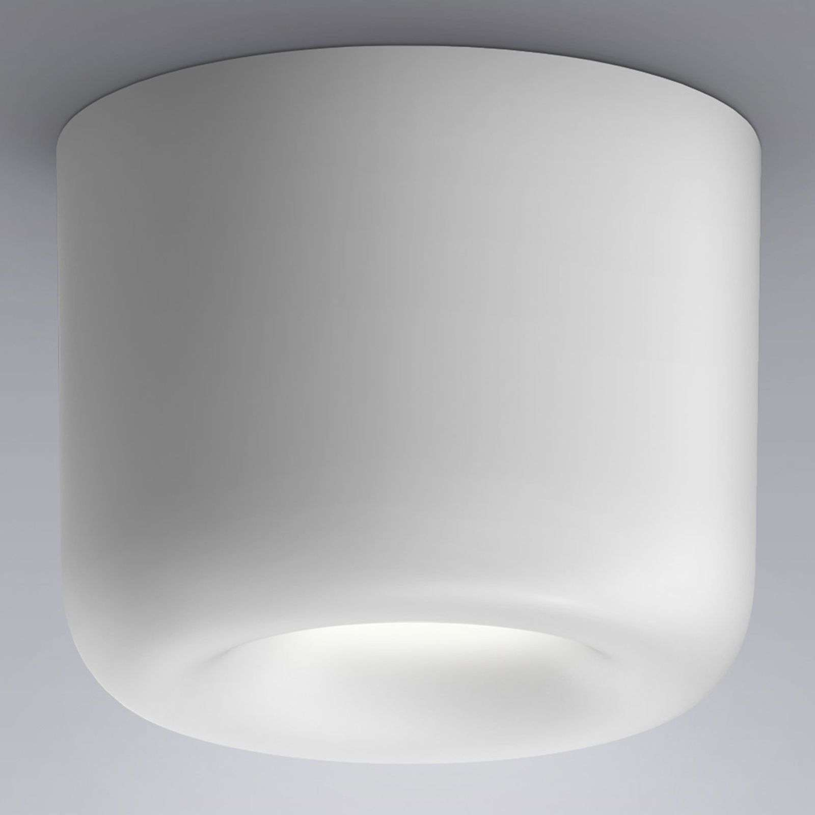 serien.lighting Cavity Ceiling L, blanco