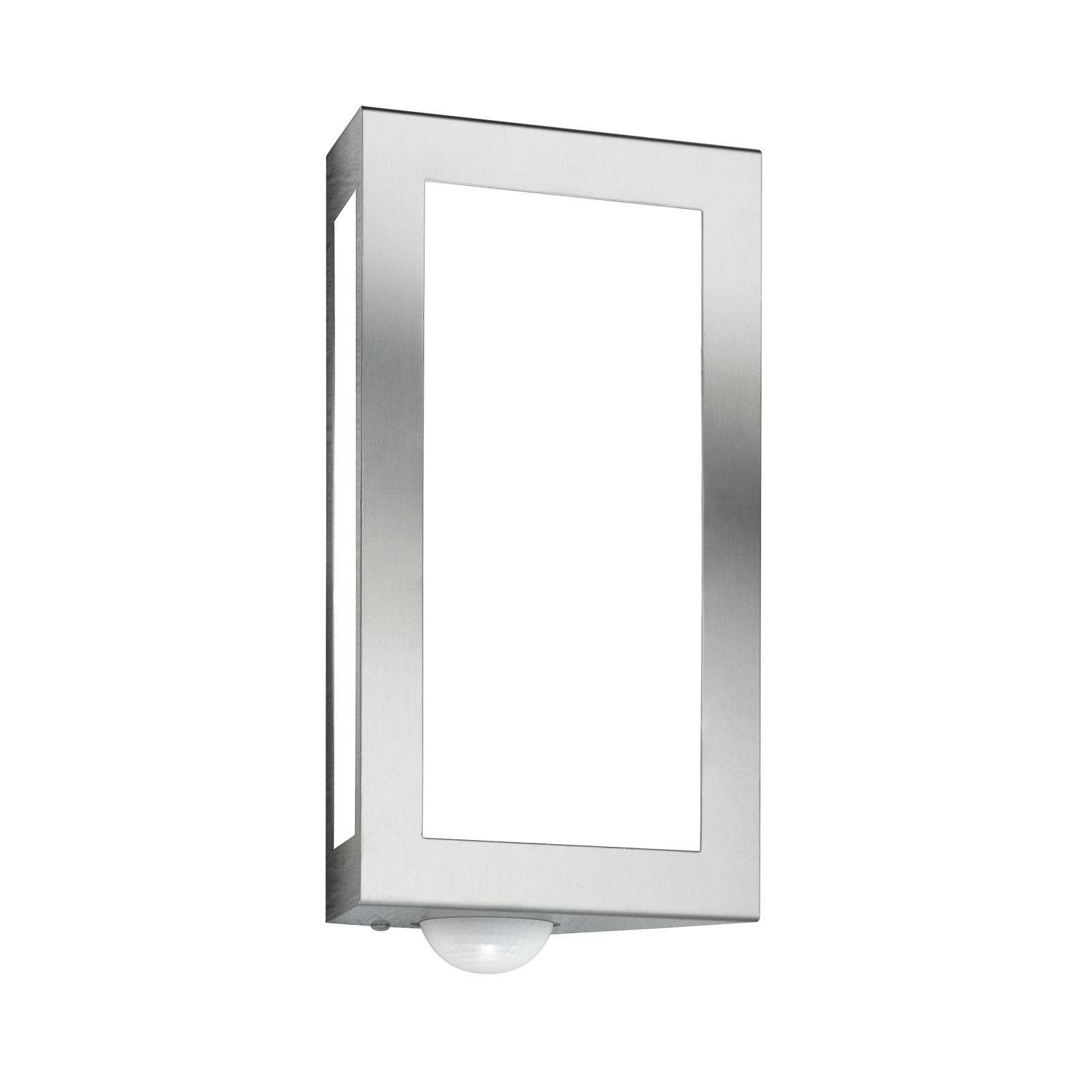 Aplique de pared exterior cuadrado Long con sensor