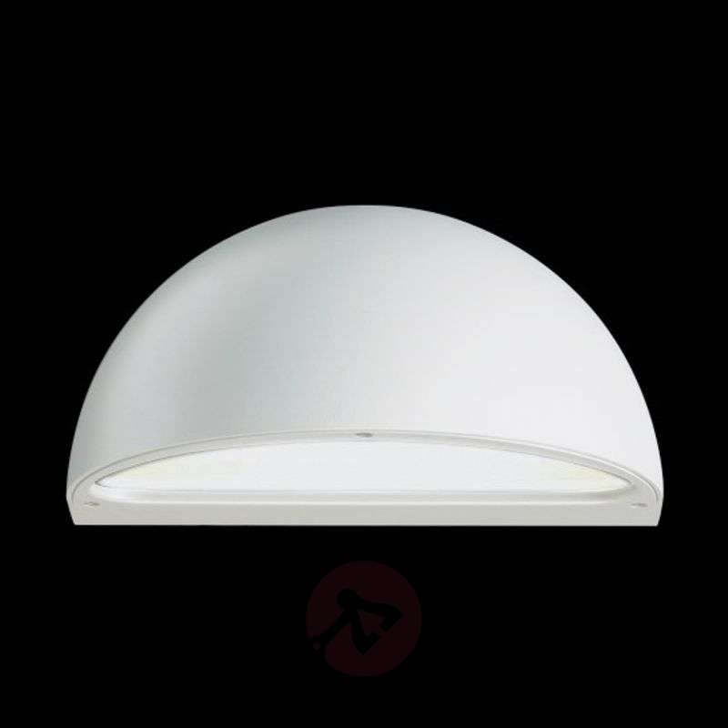 Image of Beautiful outdoor wall light MEMI, G24d/white