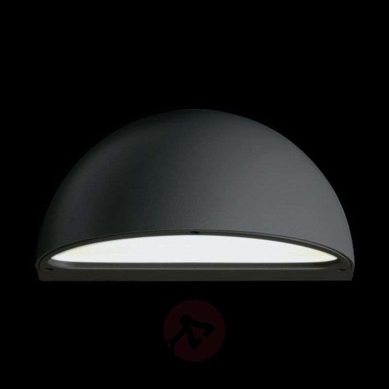 Image of Beautiful outdoor wall light MEMI, G24d/anthracite