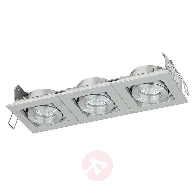 Image of Low-voltage recessed light Liverpool, three-bulb