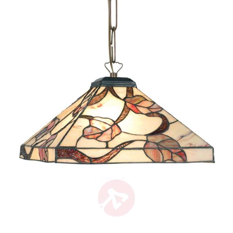 Image of Appolonia hanging light, Tiffany-style