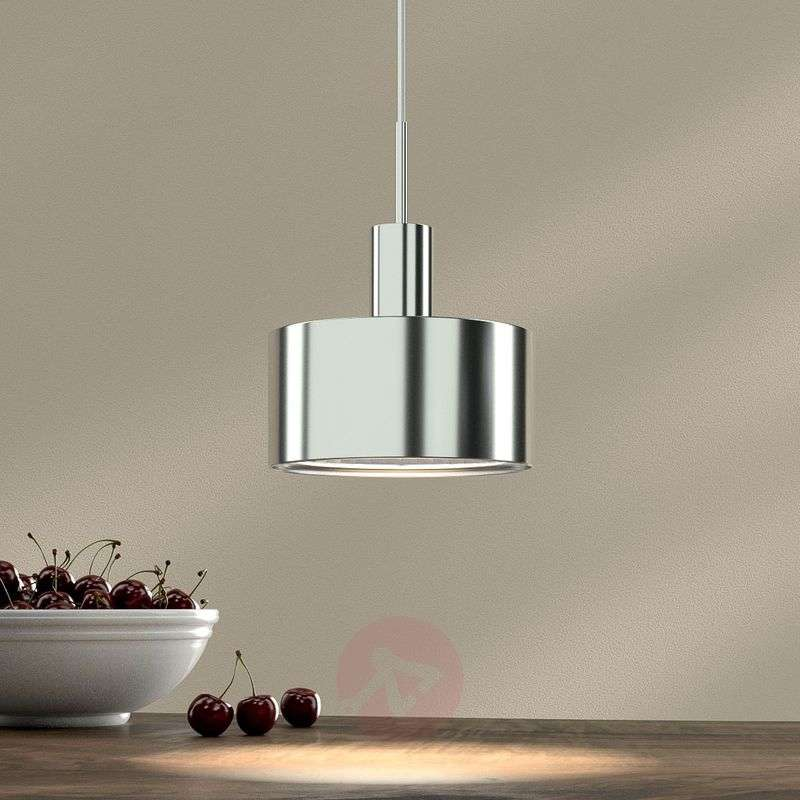 Image of 1-bulb pendant light AX20, chrome plated