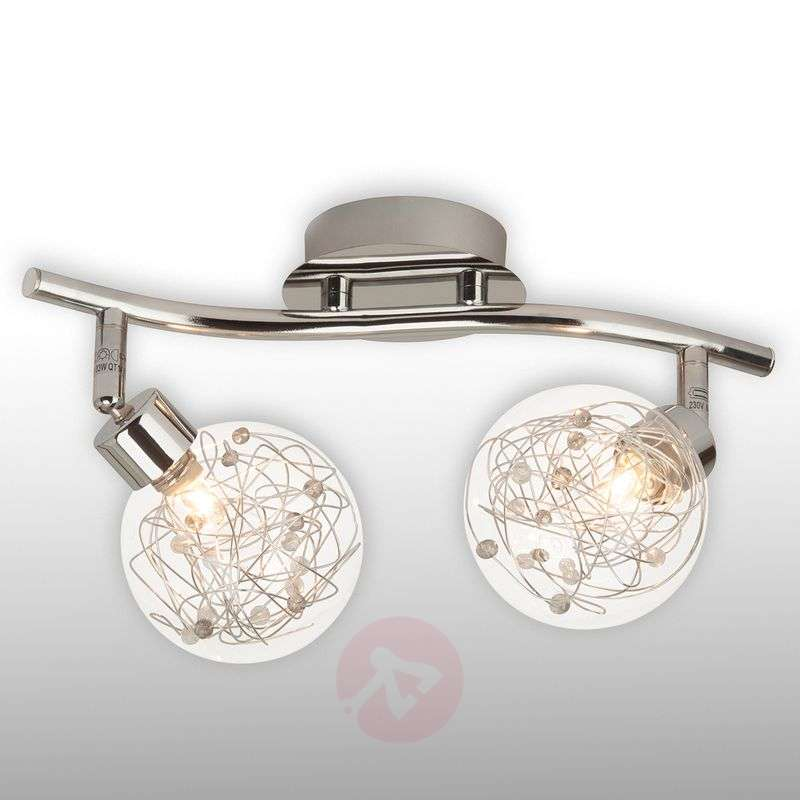 Image of 2-bulb ceiling light Joya