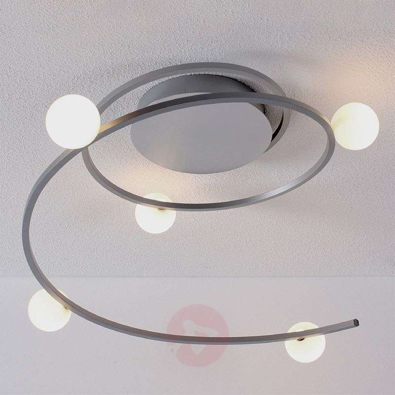 Image of Bluetooth-controlled LED ceiling light Loop