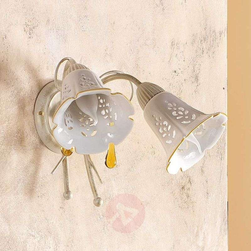 Image of 2-bulb GOCCE wall light