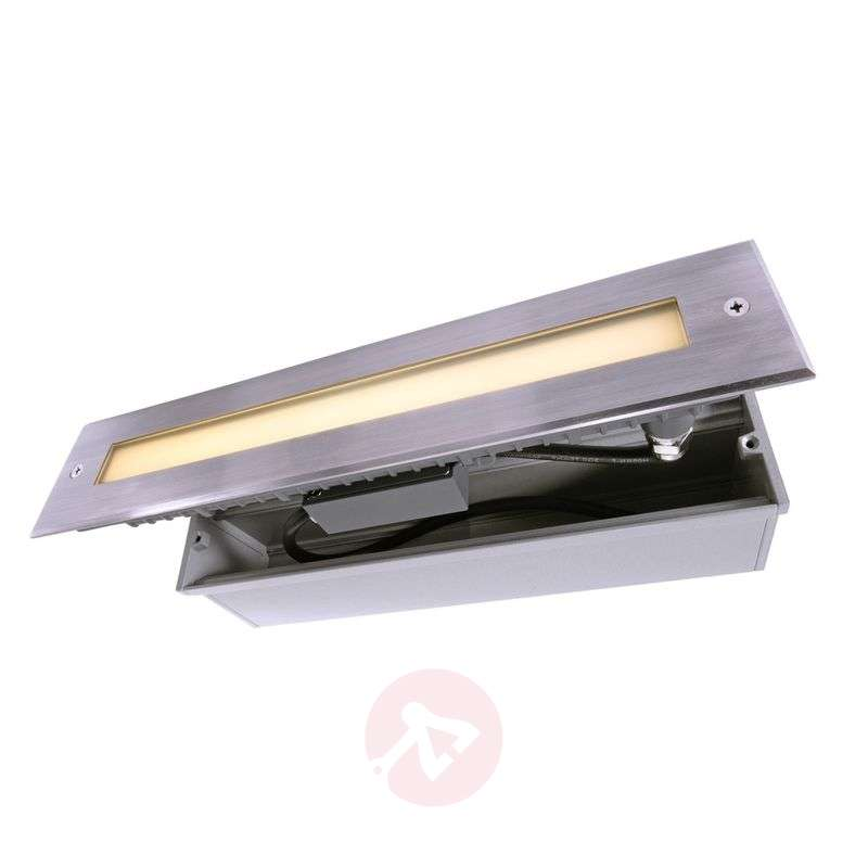 LINE stainless steel LED recessed floor light