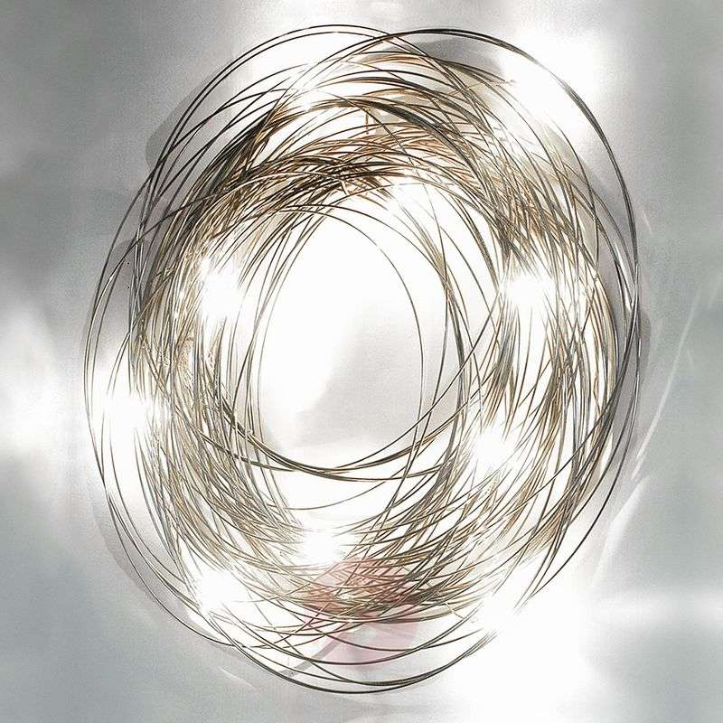 Extravagant wall light Confusione, 75 cm