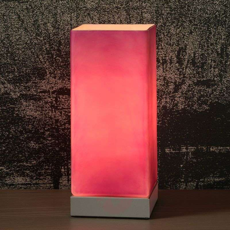 Colour-Touch table lamp in violet