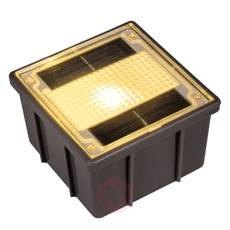 Solar recessed floor light Paving Stone with LED