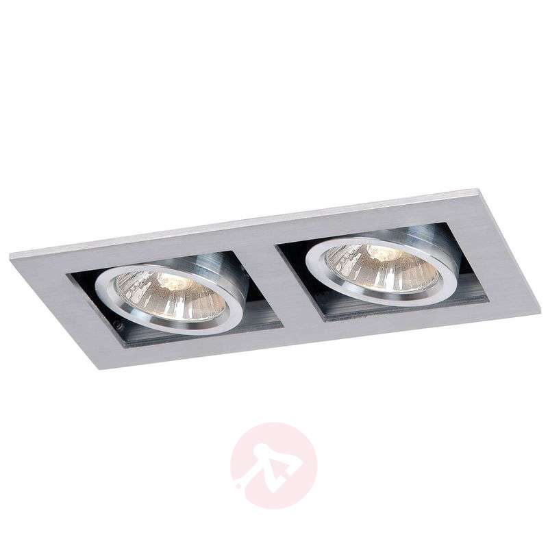 2-bulb HV Chimney recessed light