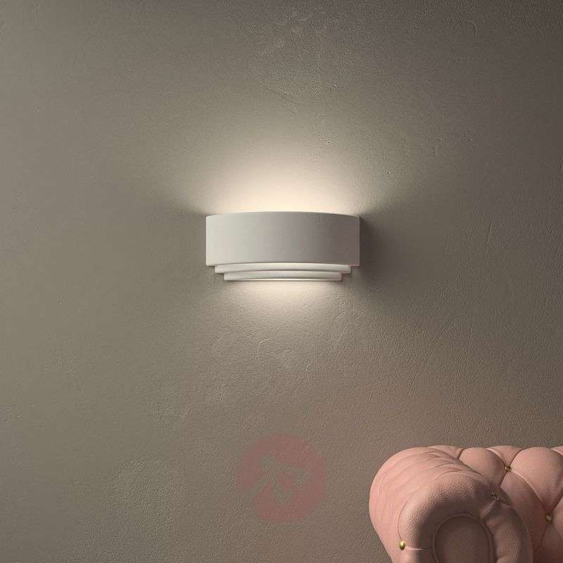 Image of Amlfi Wall Light Simple Plaster